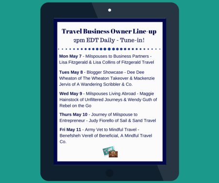 Travel Business Owner Line-up
